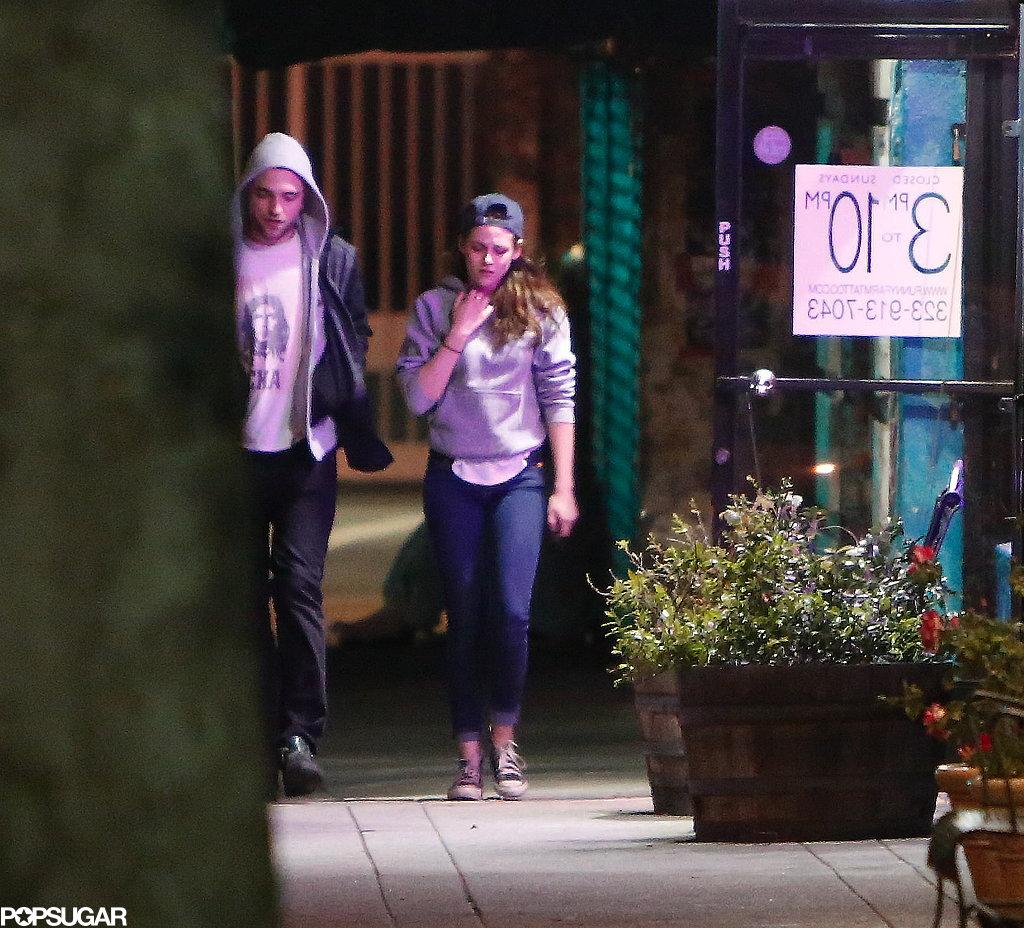 Robert Pattinson and Kristen Stewart's Friday Date Night!