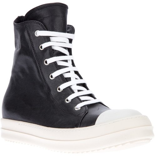 Rick Owens 'Ramones' high-top trainer