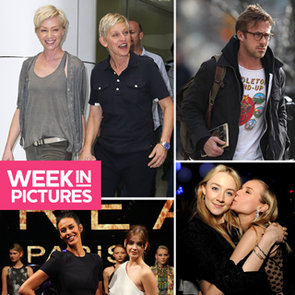 Celebrity Pics: Ellen In Australia, Baby Bumps, LMFF, Splits