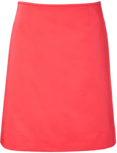 Hugo Bright Red Relini Skirt