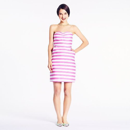 Striped betsy dress