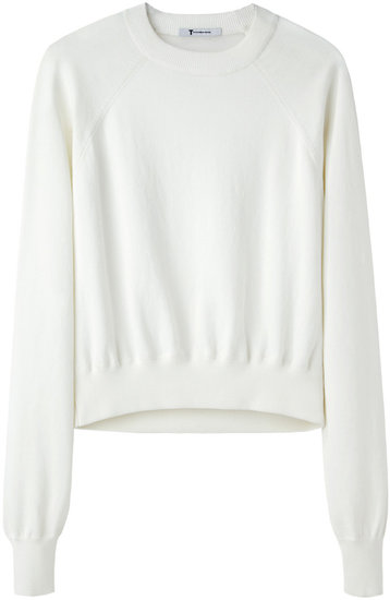 T by Alexander Wang / Knit Raglan Pullover