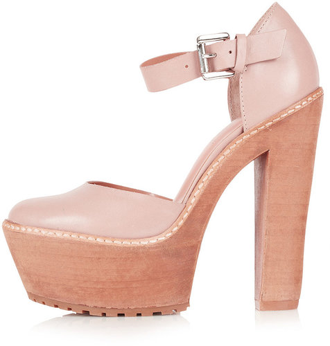 SUPER Ankle Strap Platforms