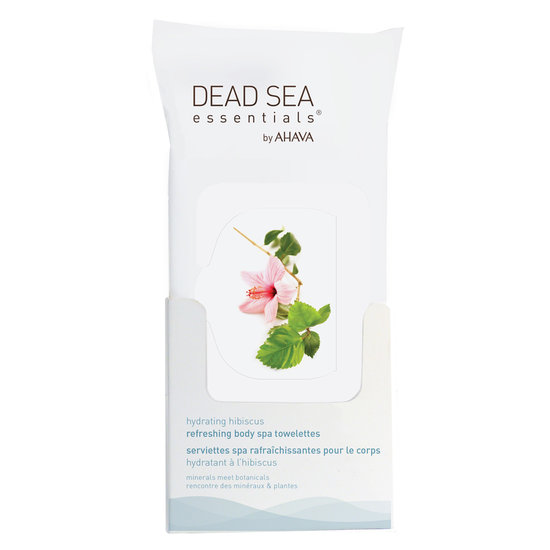 Ahava Hibiscus Refreshing Body Spa Towelettes Review