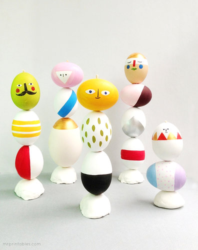 Easter Egg Sculptures