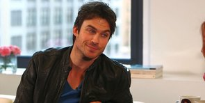 "Ian Somerhalder Talks About ""Badass Chick"" Elena and That Pesky Cure"
