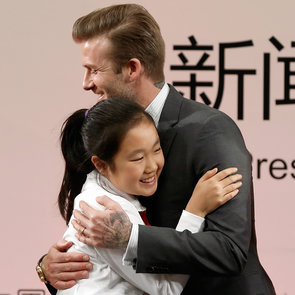 David Beckham in Beijing For China Football League