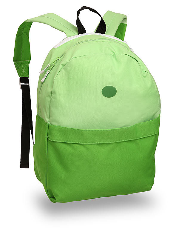 Finn's Backpack and Hat