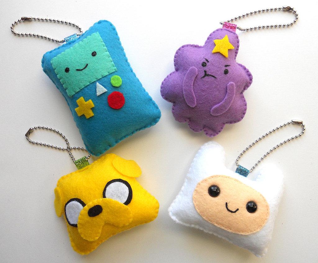 Diy Adventure Time Keychain