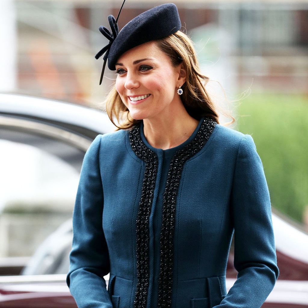 Kate Middleton Celebrates the London Tube in Sophisticated Teal