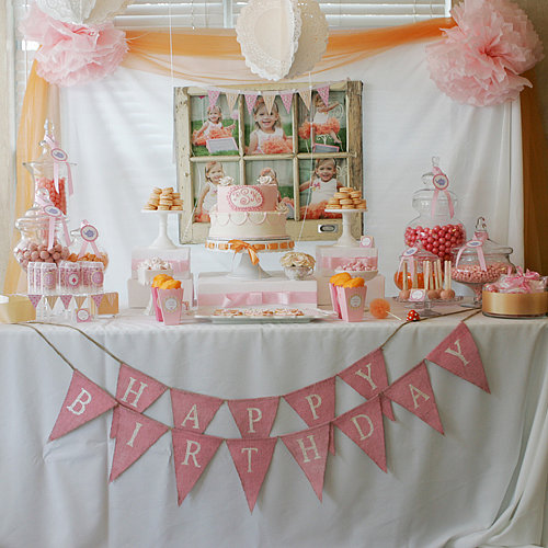 Tutus and Teacups Birthday Party