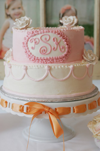 A Girlie Birthday Cake