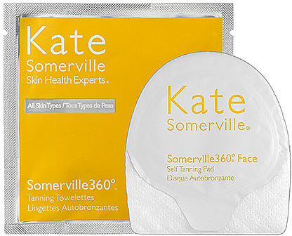Kate Somerville Somerville 360°® Face 	& Body Self Tanning Pad Duo