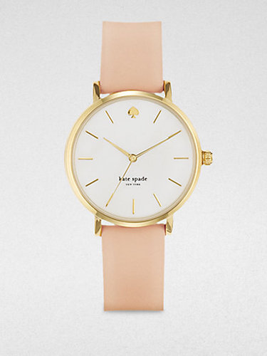 Kate Spade New York Classic Metro Goldtone Watch