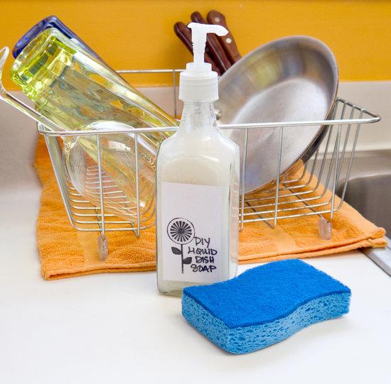 Средство для мытья посуды своими руками из горчицы