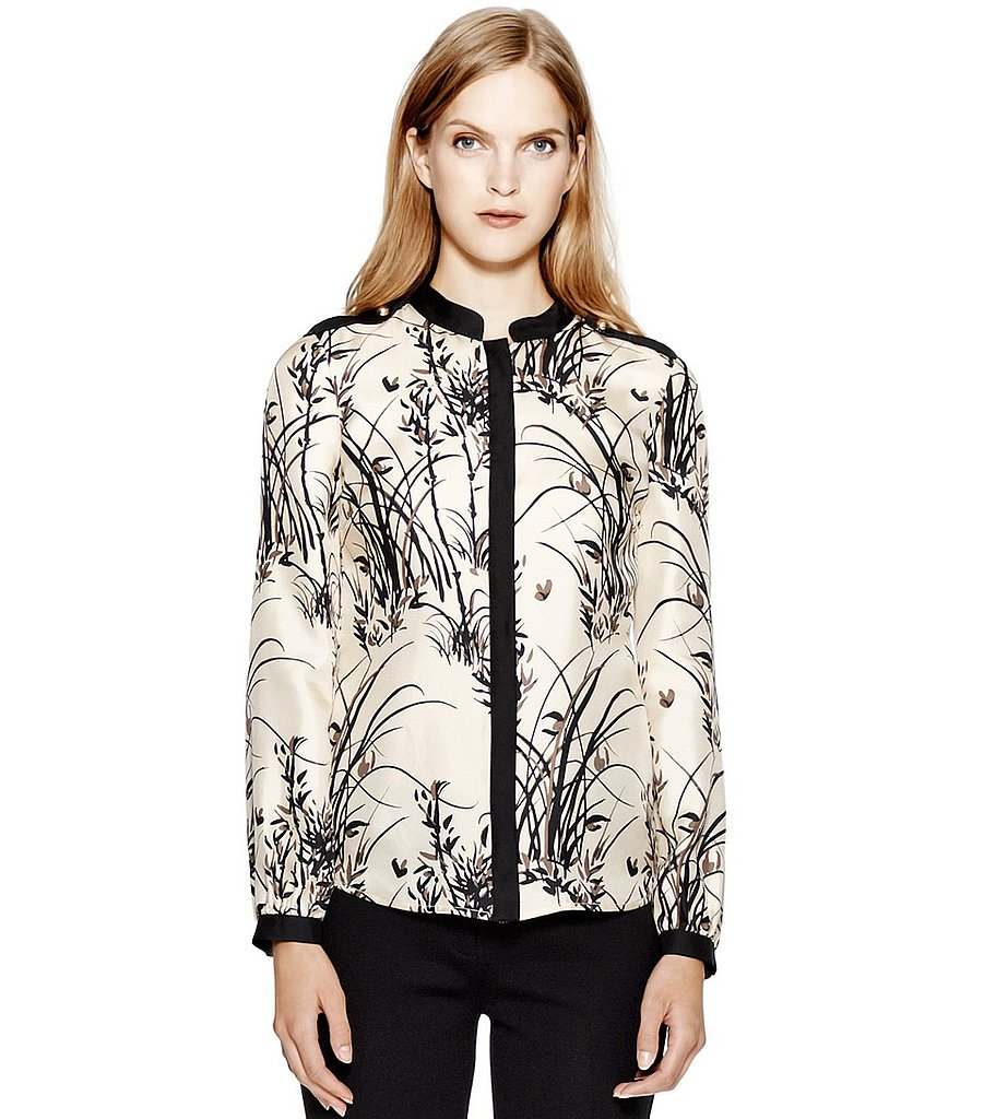 We love the idea of styling this Tory Burch Bambie blouse ($110, originally $275) with white accompaniments for a refreshing take on black and white.