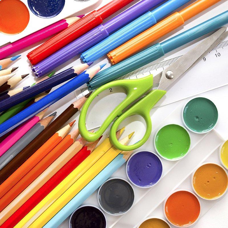 Ways to keep craft supplies organized popsugar moms for Ways to organize craft supplies