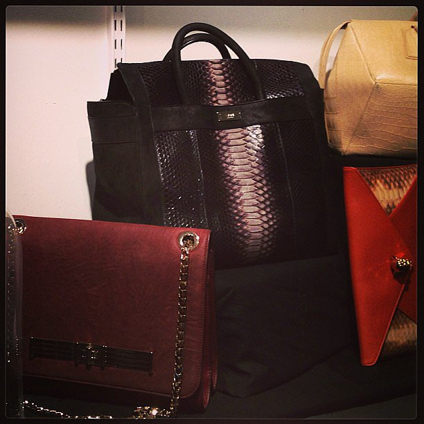 We lusted after Stark's Fall lineup of bags.