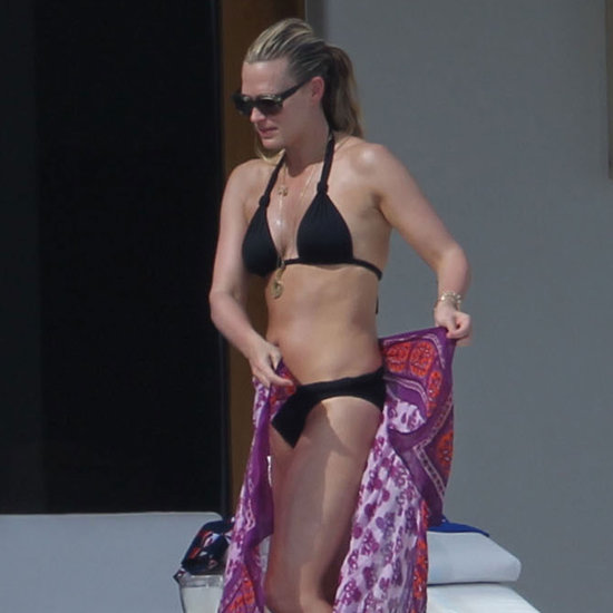 Molly Sims Bikini Pictures in Cabo