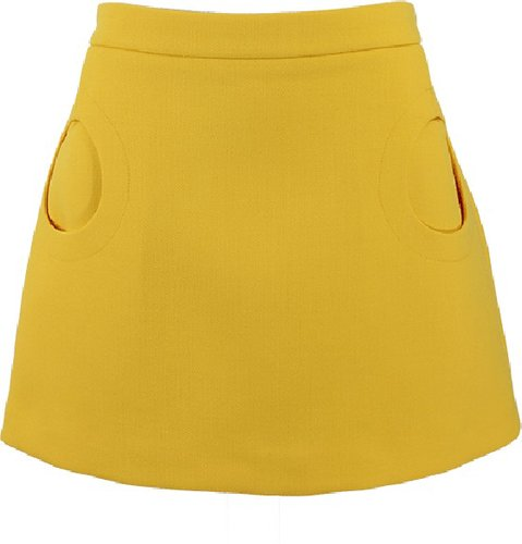 MICHAEL KORS Duvatine Circle Pocket Skirt