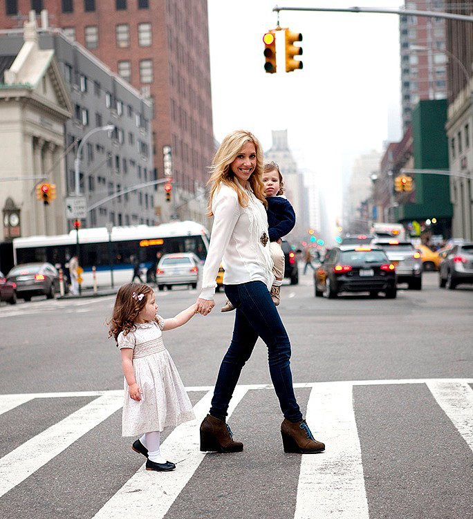 PSM: What are your wardrobe must haves for boys and girls? MK: Definitely cardigans and layering sweaters for all. For boys, polos, button-ups, and cardigans. For girls, simple, soft tees to layer under dresses, tights, and leggings.