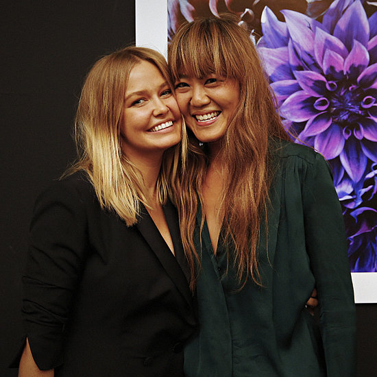 Lara Bingle, Vicki Lee & Ted O'Donnell at IS/WET Exhibition