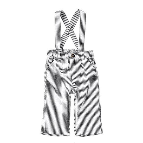 Layer these Crazy 8 Stripe Seersucker Suspender Pants ($15, originally $20) over a button-down for a charming look.