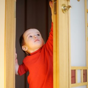 2-Year-Old Picks Lock to His Sister's Room to Take Things