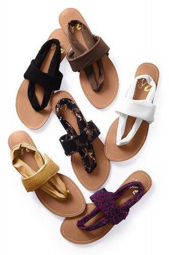 Colin Stuart Mesh Wrap Sandal