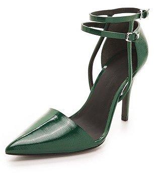 Alexander wang Emma Ankle Strap Pumps