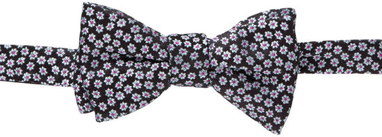 Penrose Small Flower Bow Tie