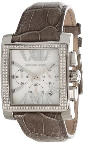 Michael Kors - MK5674 - Uptown Glam Gia Chronograph (Grey) - Jewelry