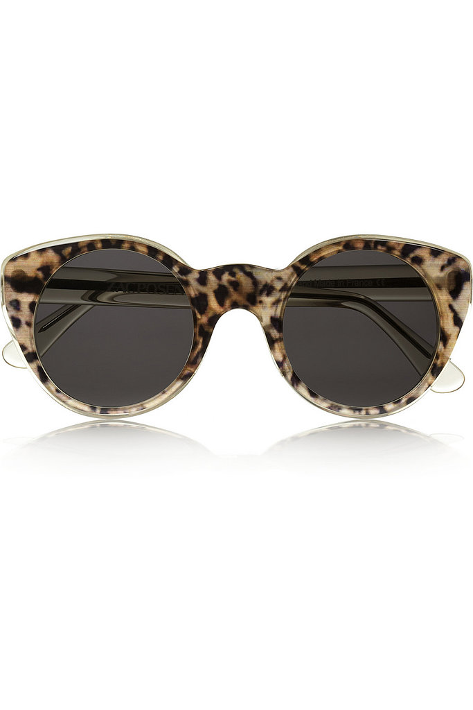 Spring is playing host to some seriously awesome designer collaborations, and this particular partnership serves up great functionality, too. The Illesteva + Zac Posen cat-eye acetate sunglasses ($295) capture a retro vibe without veering into Grease Pink Ladies territory, and they've got enough quirk to hold their own with any (and all) of the outfits I've got planned for the music festival circuit. — Marisa Tom