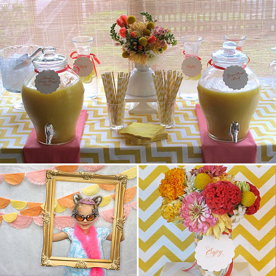 Bright and Cheerful Baby Girl Shower