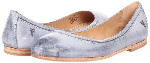 Frye - Carson Ballet (Blue Burnished Antique Leather) - Footwear