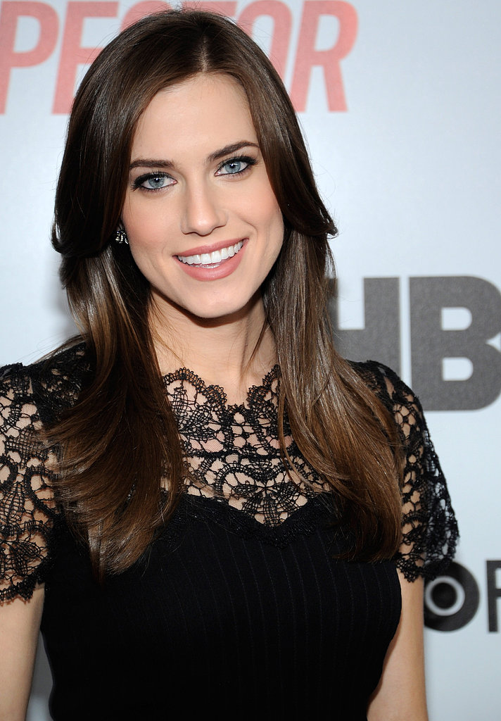 A classic blowout like Allison Williams' is a surefire way to smooth out hair and lock in shine. Use a boar-bristle brush, such as Fekkai's Large Round Brush ($65), which helps to seal the hair cuticle for a high-shine finish.