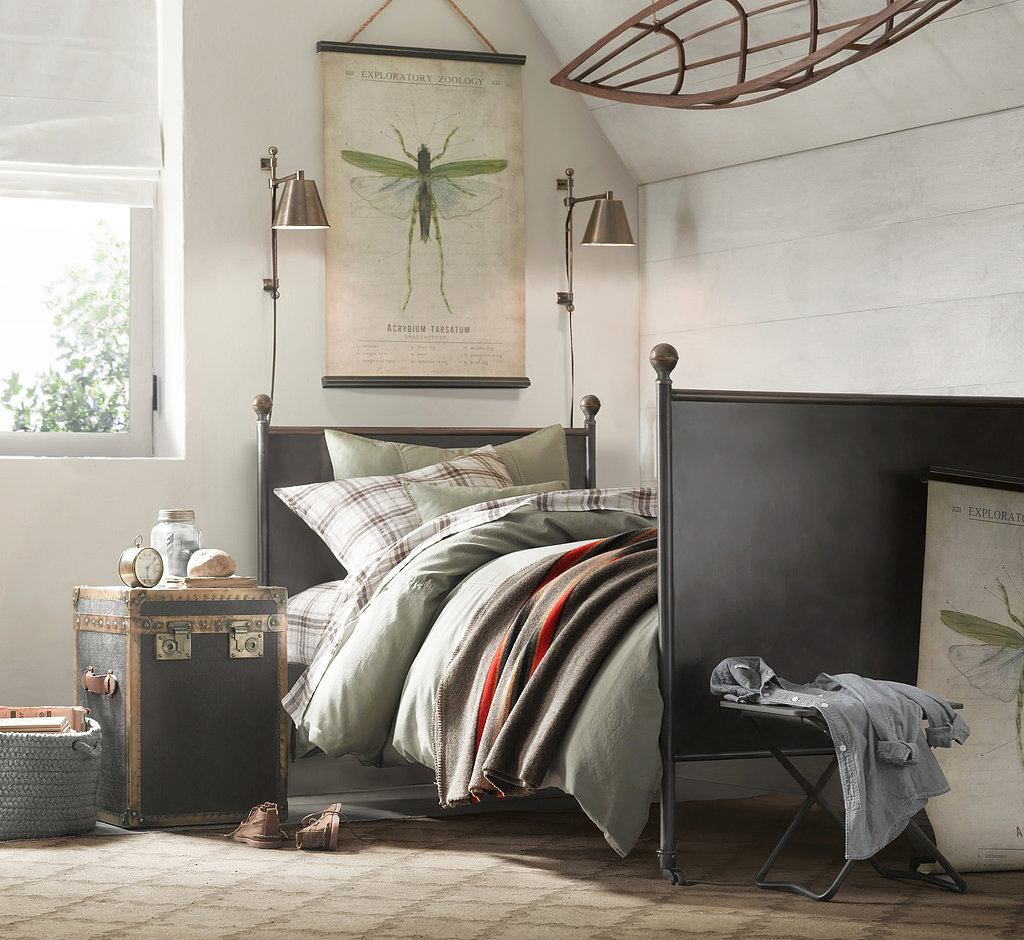 Vintage French Officer's Bedroom | Top Picks From Restoration Hardware ...