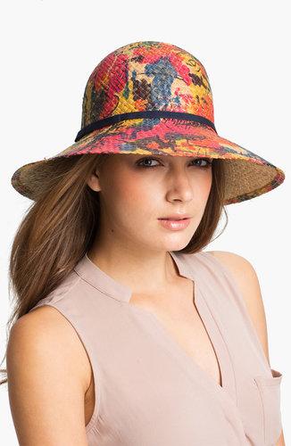 Tarnish Print Sun Hat
