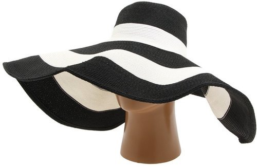 San Diego Hat Company - PBX5000 (Black/White) - Hats