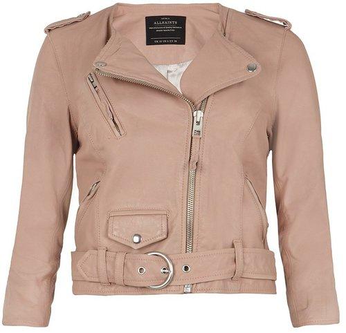 Cropped Felton Biker Jacket