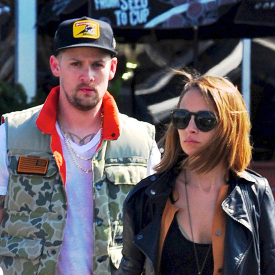 Nicole Richie and Joel Madden Grocery Shopping in LA