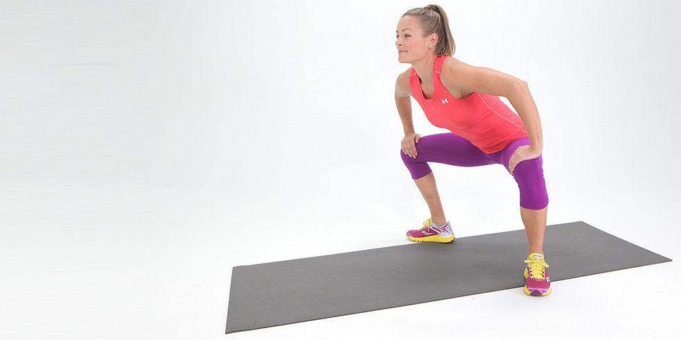 Exercise to tone glutes quads and thighs popsugar
