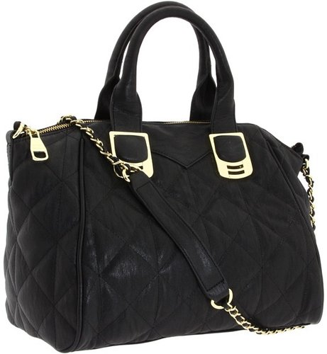 Steve Madden - Pretty In Quilt Tote (Black) - Bags and Luggage