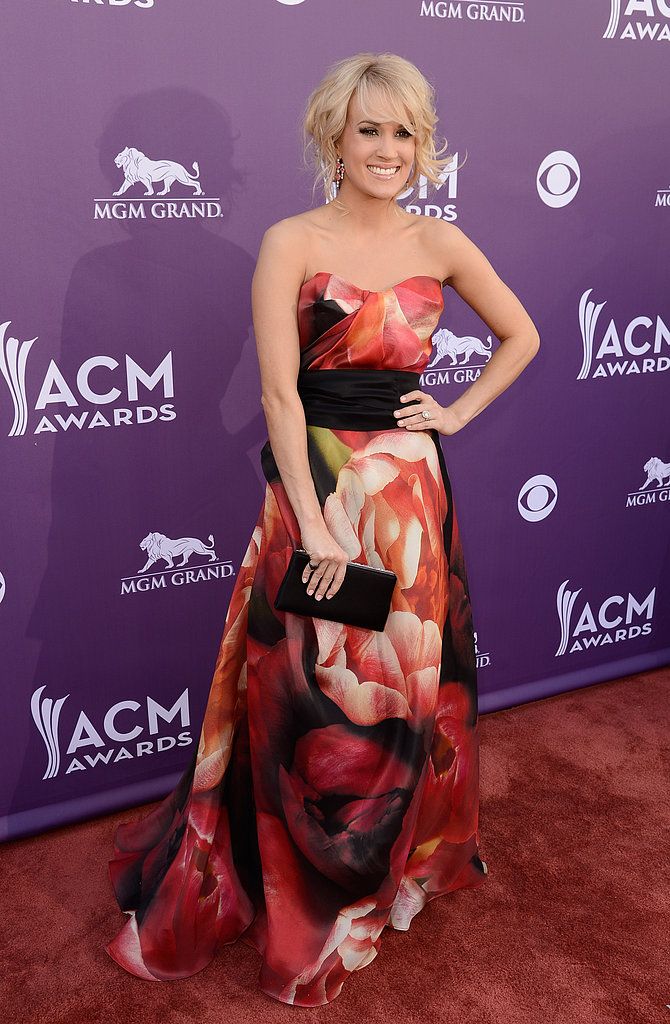 Carrie Underwood at the ACM Awards.