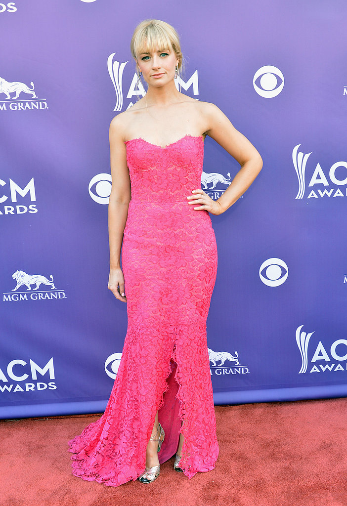 Beth Behrs at the ACM Awards.