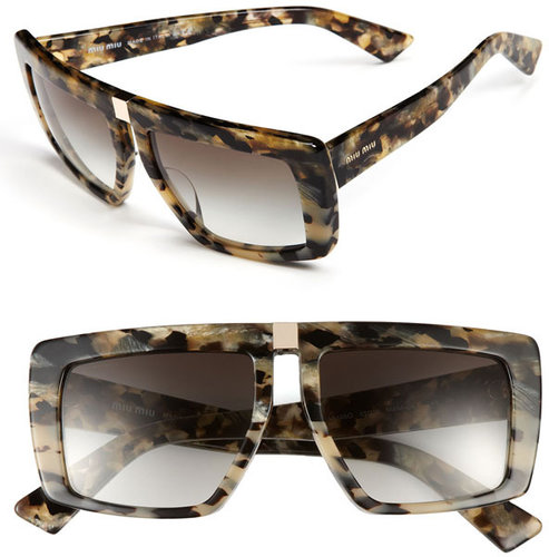Miu Miu Geometric Sunglasses