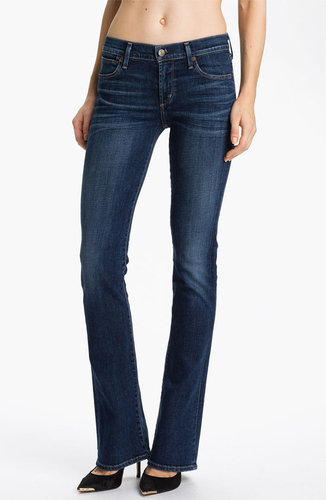 Citizens of Humanity 'Emmanuelle' Slim Bootcut Jeans (Crispy)
