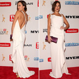 Red Carpet Pictures of Jessica McNamee at the 2013 Logies