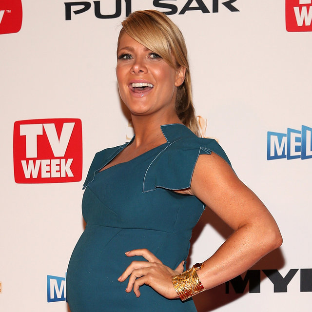 Pictures Natalie Bassingthwaighte Pregnant at the Logies