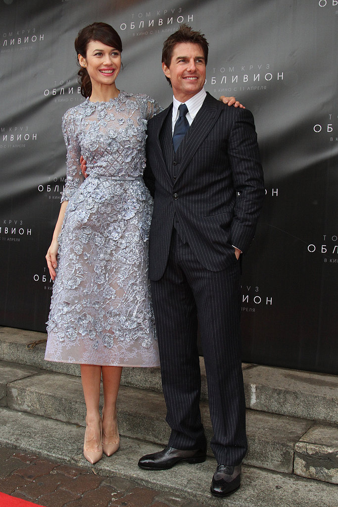Tom Cruise and Olga Kurylenko Tackle a Busy Day For Oblivion